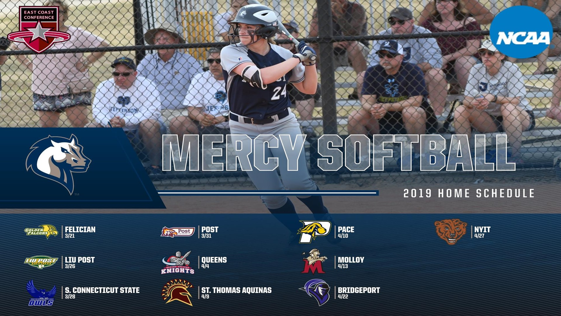 Softball Announces Spring 2019 Schedule Includes 10 Home
